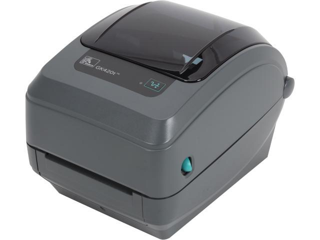 Zebra GK420t Direct Thermal/Thermal Transfer Printer ...