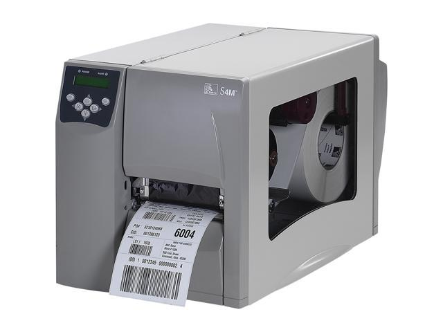 Zebra S4M Direct Thermal/Thermal Transfer Printer - Monochrome - Desktop - Label Print