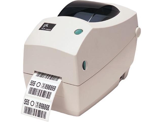 "Zebra TLP 2824 Plus 282P-101211-000 Direct Thermal/Thermal Transfer Printer 4""/102 mm per second 203 dpi/8 dots per mm Label Printer"