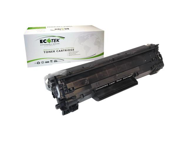 eReplacements CB436A-ER Toner Cartridge (CB436A) - Black