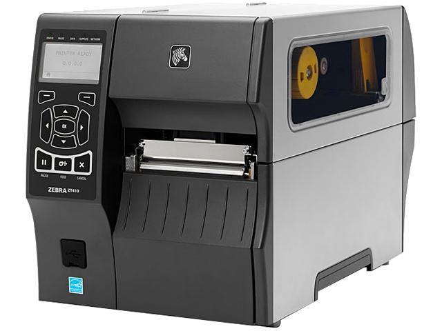 Zebra ZT410 (ZT41042-T01A000Z) Thermal Transfer Printer 14 ips 203 dpi Barcode Printer