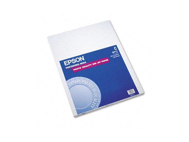 Epson America S041171 Matte Presentation Paper, 27 lbs., Matte, 17 x 22, 100 Sheets/Pack