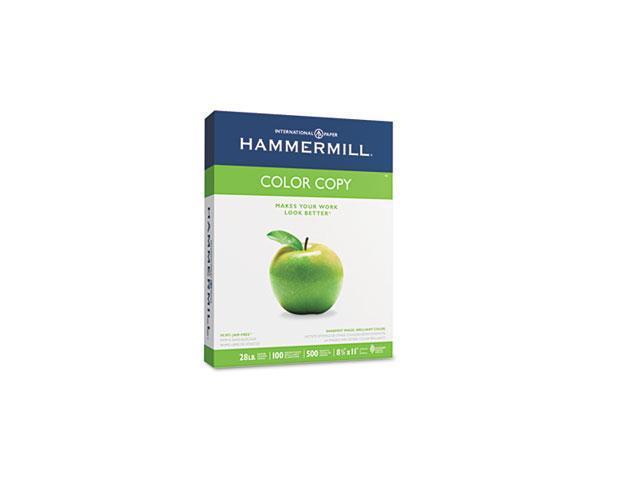 Hammermill 10246-7 Color Copy Paper, 100 Brightness, 28lb, 8-1/2 x 11, Photo White, 500/Ream