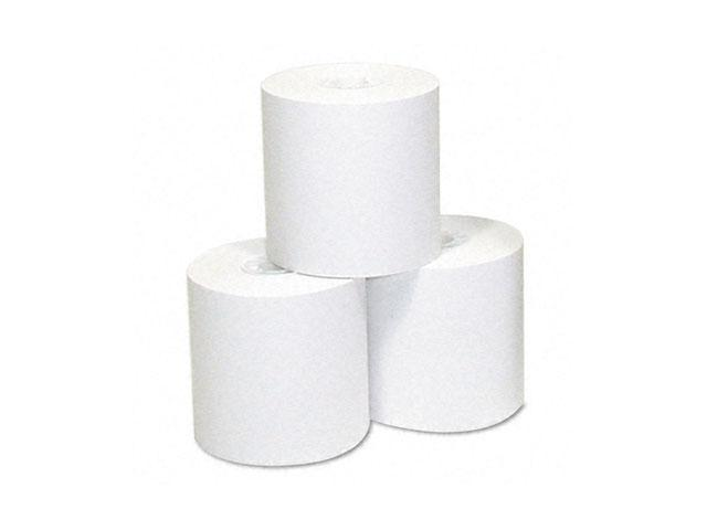 """NCR Thermal Paper Rolls, 1-3/4"""" x 230 ft, White, 10/Pack"""