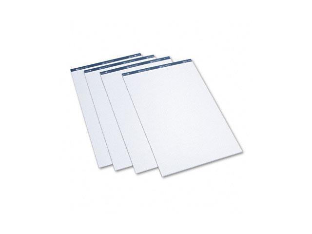 Quartet LP50 Conference Cabinet Flipchart Pad, Plain, 21 x 33-7/10, WE, 50-Sheet, 4/Carton