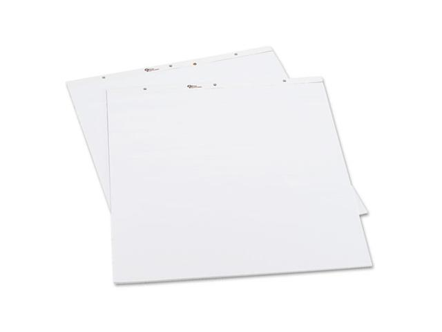 Office Impressions Perforated Easel Pads, Blank, 27 x 34, 2 50-Sheet Pads/Pack