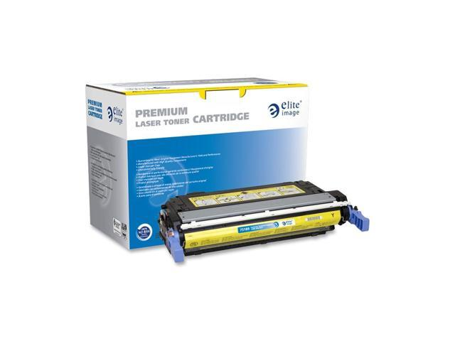 Elite Image 75189 Yellow Remanufactured HP 643A Color Laser Cartridge