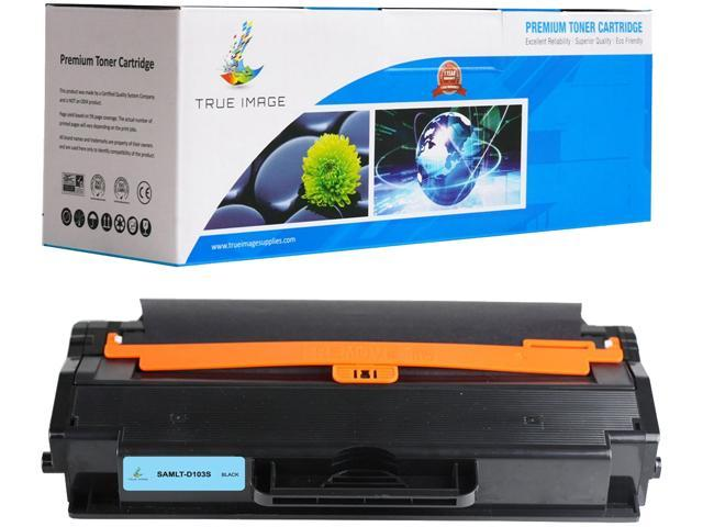 TRUE IMAGE SAMLTD103S Black Toner Replaces Samsung 103 MLT-D103S, Single Pack, Page Yield 2,500