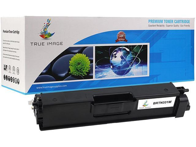 TRUE IMAGE BRTN331M Magenta Toner Replaces Brother TN-331M TN331M, Single Pack, Page Yield 1,500