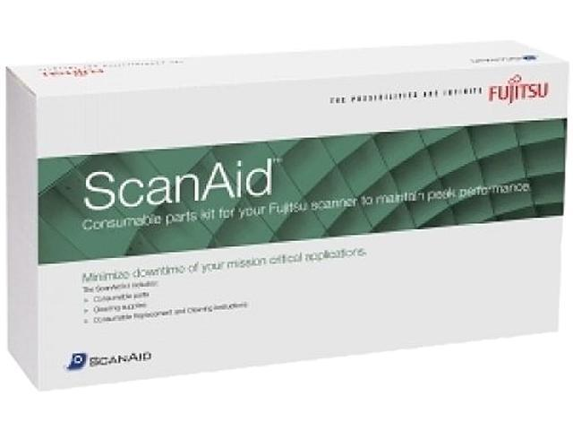 Fujitsu CG01000-530801 ScanAid Maintenance Kit for  fi-6800 Sheet-Fed Scanner