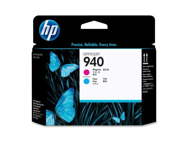 HP C4901A 940 Magenta and Cyan Officejet Printhead