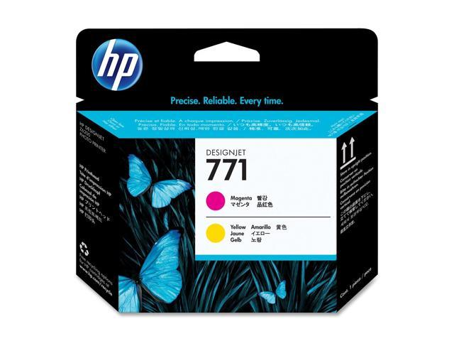 HP CE018A Magenta / Yellow Designjet Printhead