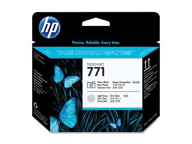 HP CE020A Photo Black / Light Gray Designjet Printhead