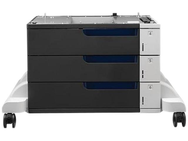 HP CE725A Color LaserJet 3x500-sheet Paper Feeder and Stand