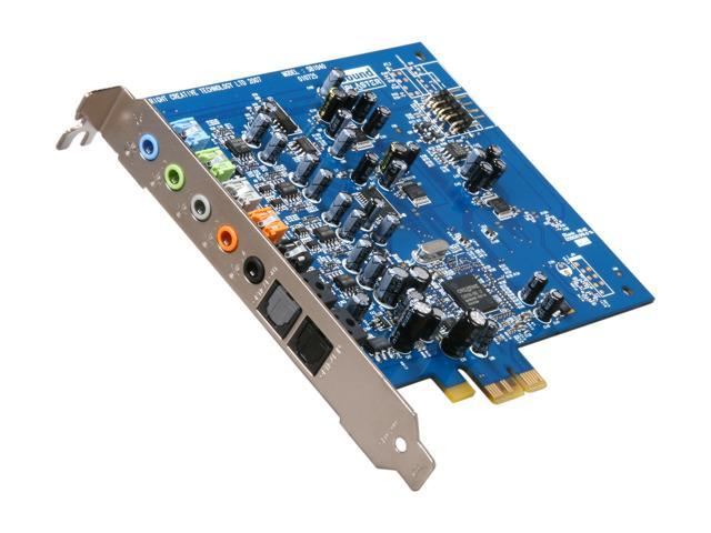 Creative SB X-Fi Xtreme Audio (70SB104000000) 7.1 Channels PCI Express x1 Interface Sound Card