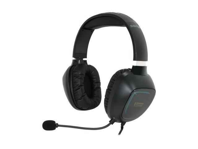 Creative 70GH014000002 3.5mm / USB2.0 Connector Circumaural Sound Blaster Tactic 3D Sigma Headset