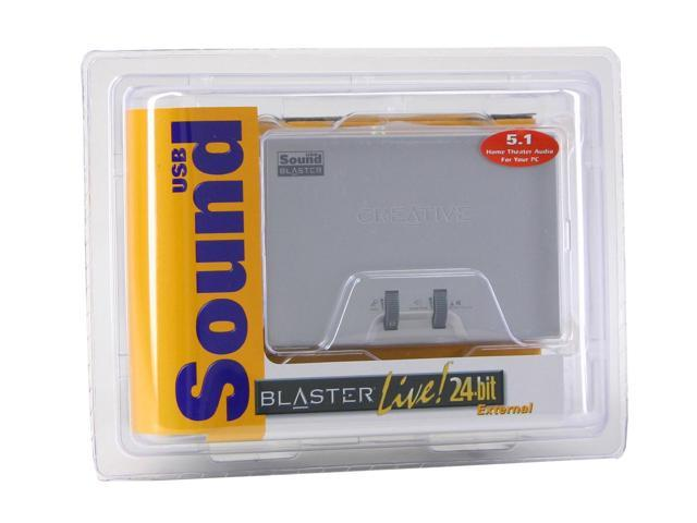 Creative External Sound Blaster Live! SB0490 Sound Card