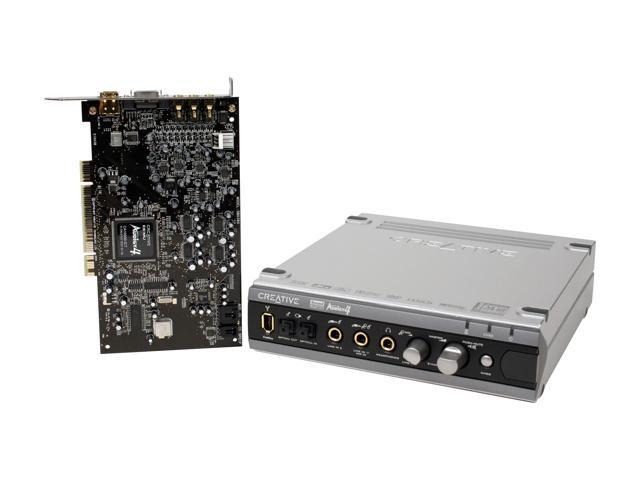 Creative Sound Blaster Audigy 4 Pro 7.1 Channels PCI Interface Sound Card