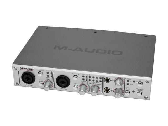 m audio firewire 410 4 in 10 out mobile recording. Black Bedroom Furniture Sets. Home Design Ideas