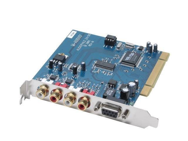 M-AUDIO Audiophile 2496 PCI Interface 4-In-4-Out Professional Audio Card with MIDI