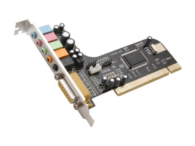 StarTech PCISOUND5CH 5.1 Channels PCI Interface Sound Card