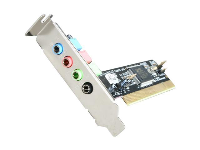 StarTech PCISOUND4LP 4 Channels PCI Interface Low Profile Sound Card