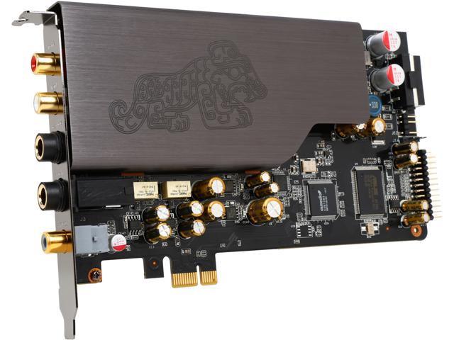 ASUS Essence STX II PCI Express x1 Interface Hi-Fi Quality Sound Card