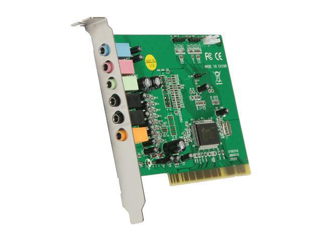 BYTECC BT-P8CHS 3D Sound Card, Full Duplex 32-bit PCI BUS MASTER