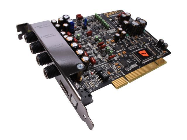 INFRASONIC QUARTET 4 Channels 24-bit 192KHz PCI Multi Purpose Pro-Audio Interface w/ MIDI