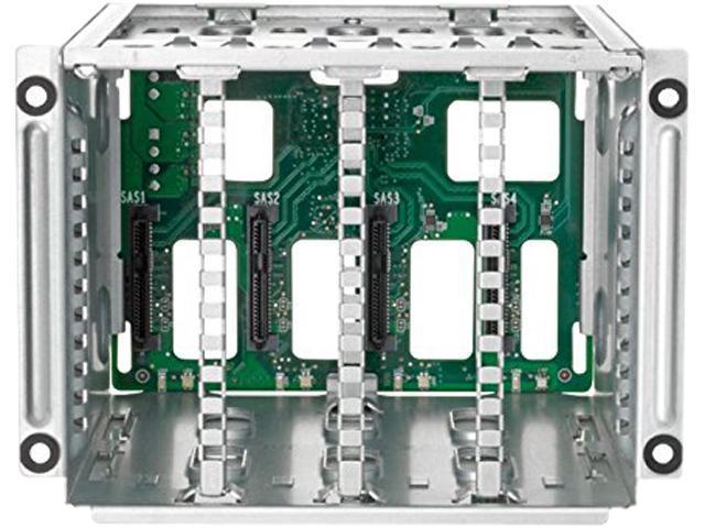 HP 725872-B21 4 Lff Hard Drive Cage - Storage Drive Cage - 3.5 Inch - For Hpe Proliant Ml150 Gen9, Ml150 Gen9 Base, Ml150 Gen9 Entry, Ml150 Gen9 Performance (3.5 Inch )