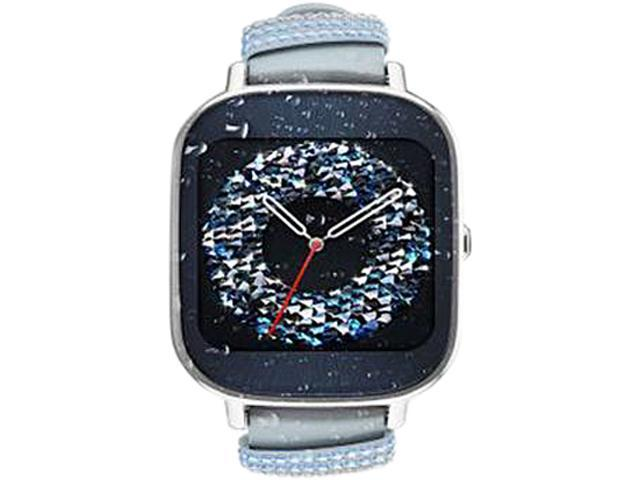 ASUS ZenWatch 2 Android Wear Smartwatch with Quick Charge & Silver Case,...