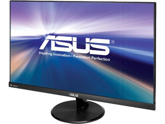"Asus VP279Q-P Black 27"" 5ms (GTG) IPS Frameless Widescreen LCD/LED Monitor, 250 cd/m2 DCR 80,000,000:1 (1,000:1), Dual Built-in Speakers, VESA Mountable, Exclusive GamePlus Function, HDMI D-Sub DP"