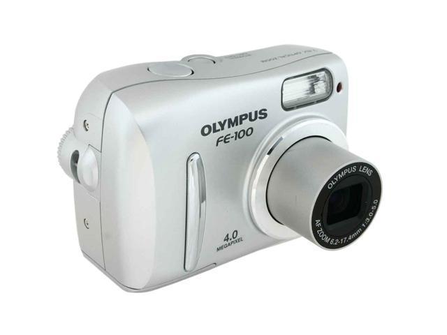 OLYMPUS FE-100 Silver 4 MP Digital Camera