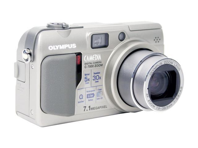 OLYMPUS C-7000 2-Tone 7.1MP 5X Optical Zoom Digital Camera