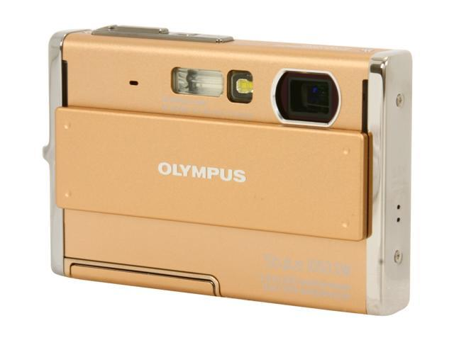 OLYMPUS Stylus 1050 SW Champagne 10.1 MP 3X Optical Zoom Waterproof Shockproof Digital Camera