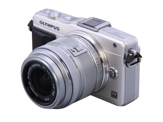 OLYMPUS FE-4020 Blue 14 MP 4X Optical Zoom 26mm Wide Angle Digital Camera