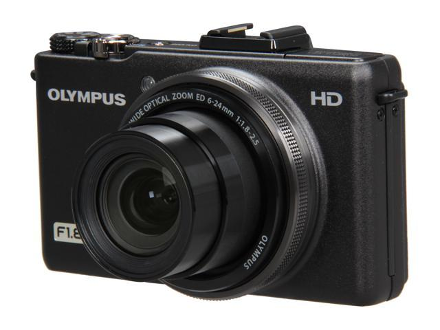 OLYMPUS XZ-1 Black 10.0 MP 4X Optical Zoom Digital Camera
