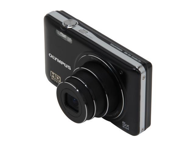 OLYMPUS VG-160 Black 14 MP 26mm Wide Angle Digital Camera