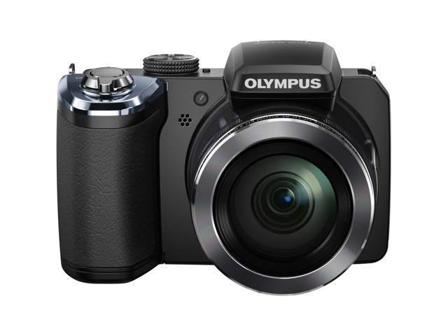 OLYMPUS SP-820UZ iHS V103050BU000 Black 14 MP Digital Camera HDTV Output