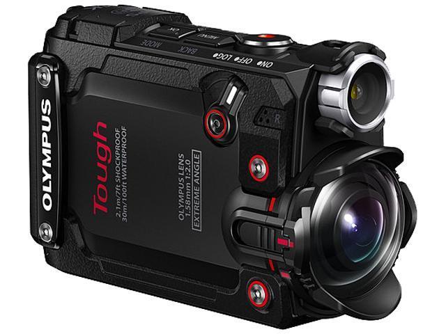 OLYMPUS TOUGH TG-Tracker V104180BU000 Black 8 MP 1.5