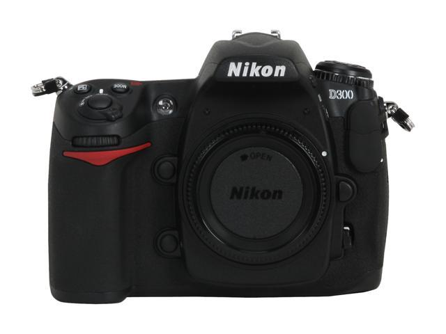 Nikon D300 Black Digital SLR Camera - Body Only