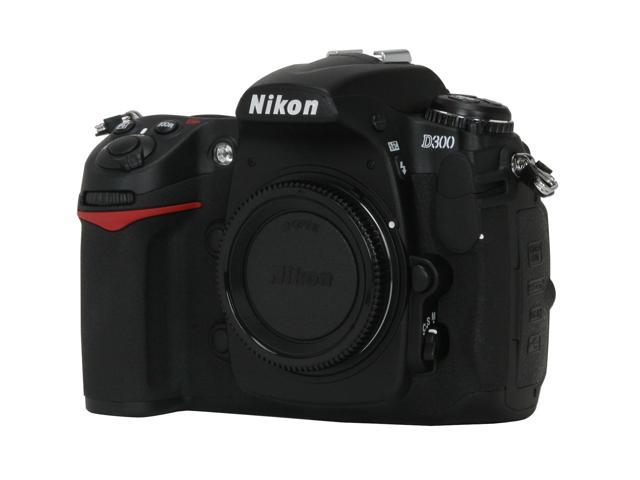 Nikon D300 Black Digital SLR Camera - Body Only