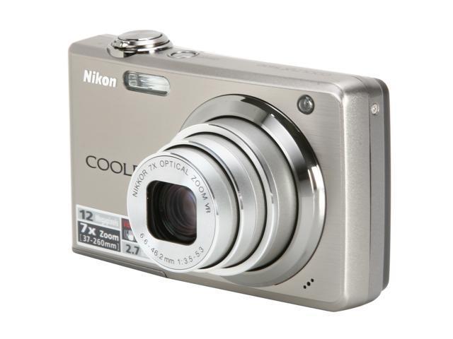 Nikon COOLPIX S630 Titanium Silver 12.0 MP 7X Optical Zoom Digital Camera