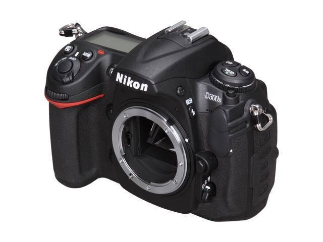 Nikon D300S Black DX Format Digital SLR Camera - Body Only