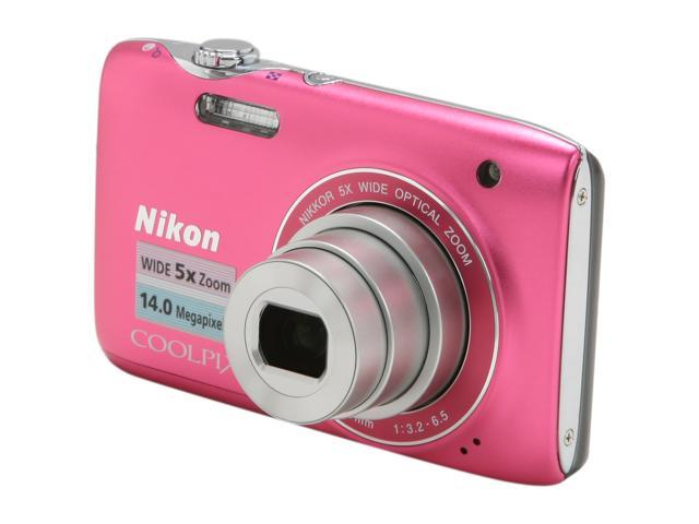 Nikon COOLPIX S3100 Pink 14.0 MP Digital Camera