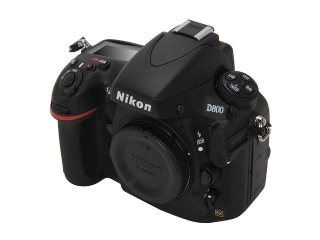 Nikon D800 (25480) Black 36.3 MP Digital SLR Camera - Body Only