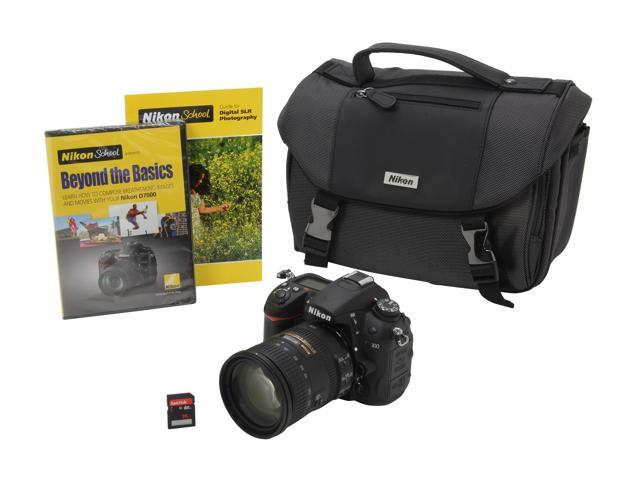 Nikon D7000 (13019) Black Digital SLR Camera with 18-200mm lens