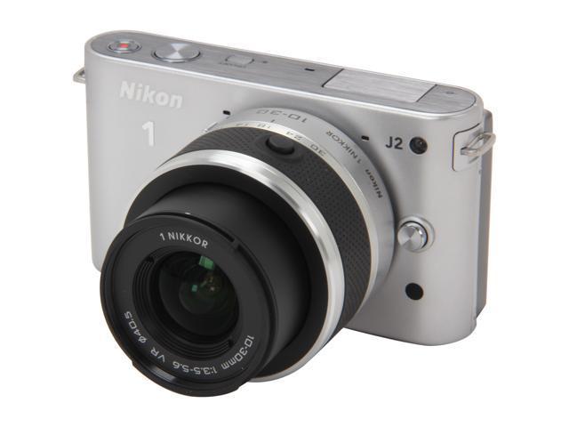 Nikon 1 J2 (27574) Silver 10.1 MP 3.0