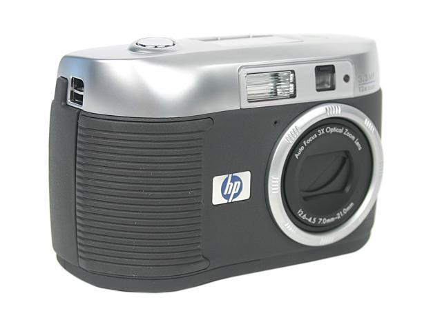 HP Photosmart 720 Silver & Black 3.1MP 3X Optical Zoom Digital Camera
