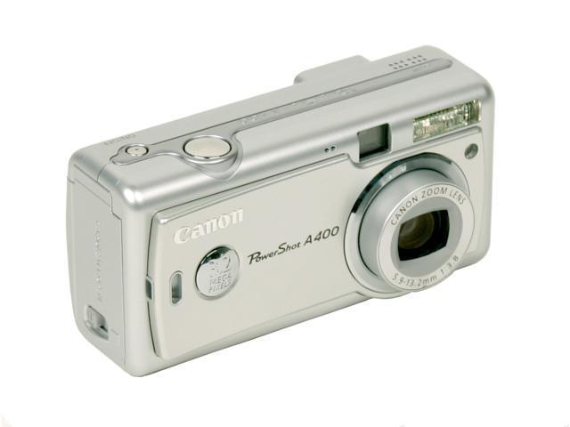 Canon PowerShot A400 Silver 3.2MP 2.2X Optical Zoom Digital Camera
